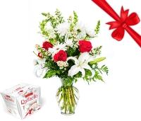Vahva lillekimp kingitusega