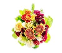 Sarmikas lillekimp kingitusega